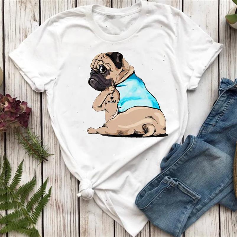 Women T shirts Cute Friends Sweet 90s Animal Dog Pet Mom Funny Cartoon Top Lady Tshirt Female Ladies Print Graphic Tee T