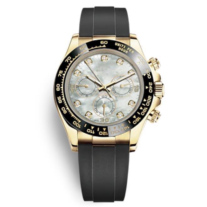 Casual Mode Ceramic Lünette Schwarz Uhren Herren Gold Automatische Bewegung Mechanische Uhr Sport Männer Designer Shell Dial Party Schöne Armbanduhren