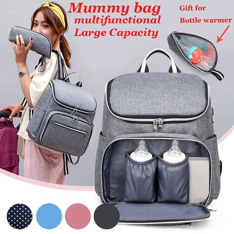 2021 Backpack Diaper Bag Baby Large Multifunction Mom Maternity Bags Wet Mummy For Nappy With Stroller Irfvb