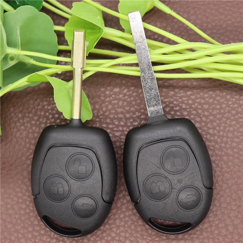 3 кнопки Blade Ucout Remote Car Key Shell Case FOB Чехлы для Ford Focus Mondeo Fesuse Fusion Suit Fiesta KA