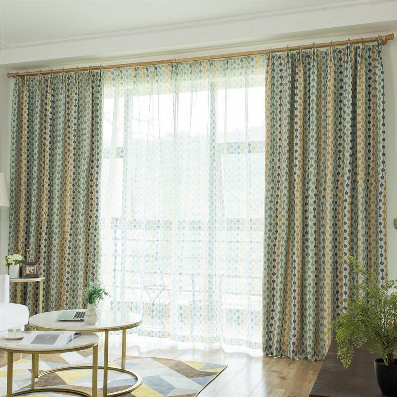 2020 nuovi tessuti per tende di design in stile europeo per window balcone salotto drappeggi