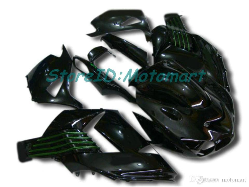 Cuerpo para Kawasaki Ninja ZZR1400 14 R ZX14R 06 07 ZZR 1400 ZX-14R ZX 14R 2006 2007 Carreyo ZX14R001