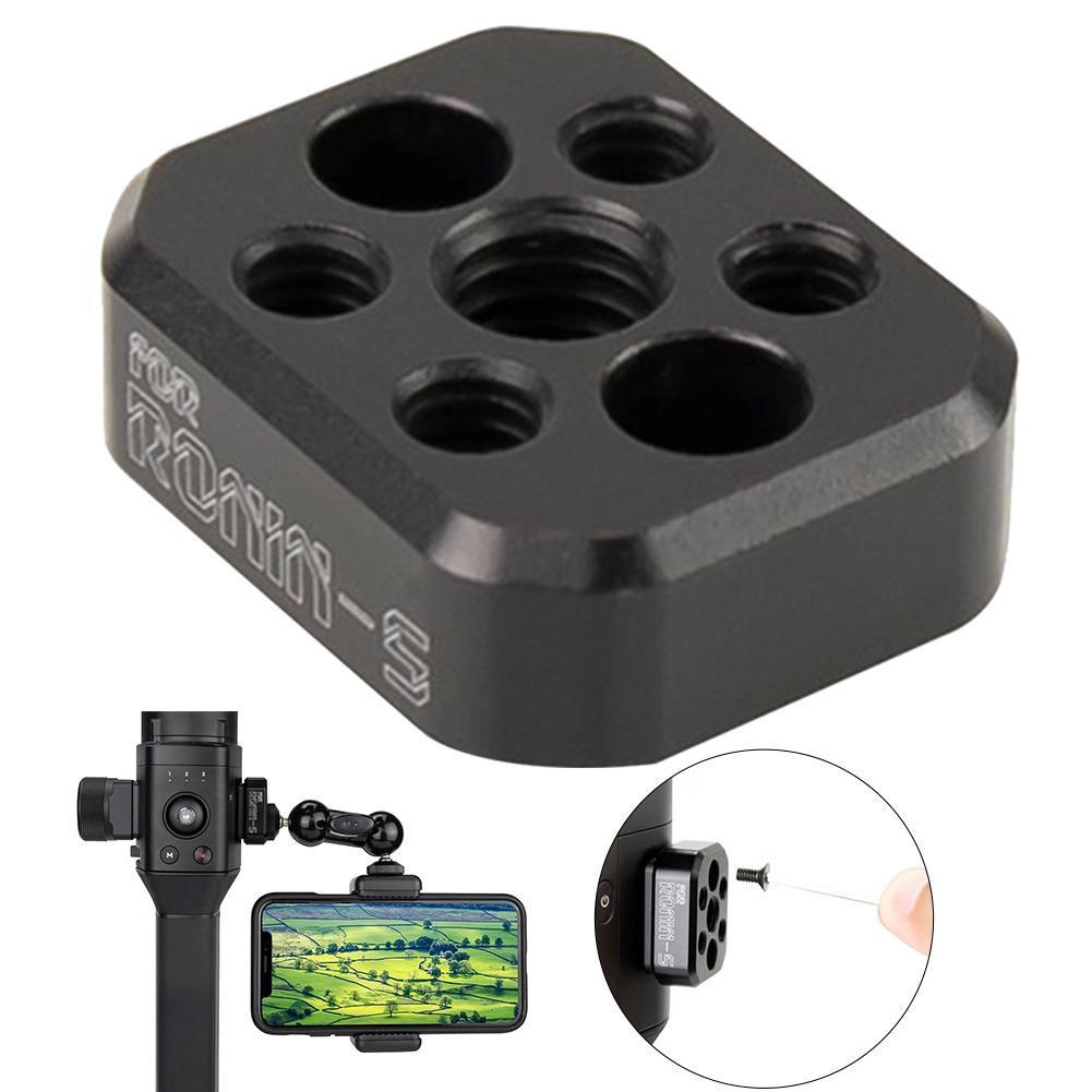 DJI RONIN-S Gimbal Hızlı Relese Levha Alüminyum Alaşım Kamera Dış Montaj Plakası