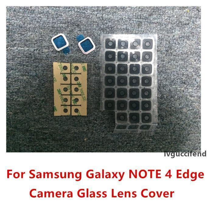 Nouvelle caméra arrière porte-cadre de couverture de poche pour Samsung Galaxy Note 4 Edge N915 100PCS / Lot Expédition gratuite