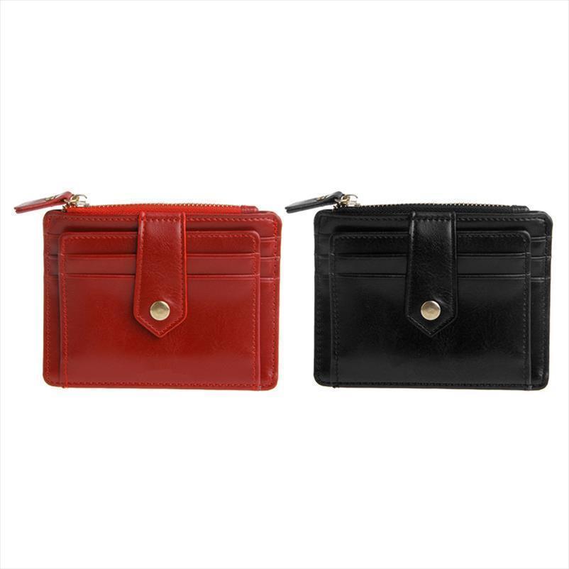 Venda Hot Black Red Cor Homens Mulheres Carteira Dinheiro Clip Holder cartão de crédito do negócio de dinheiro falso couro simples e elegante bolsa moda