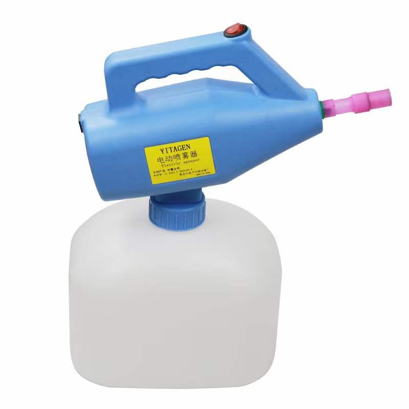 Sprayer Pump Battery Sprayer Sanitizer Gun ULV Fogger Garden Sprinklers Atomization Disinfector Garden Hose Fogging Machine Disinfection