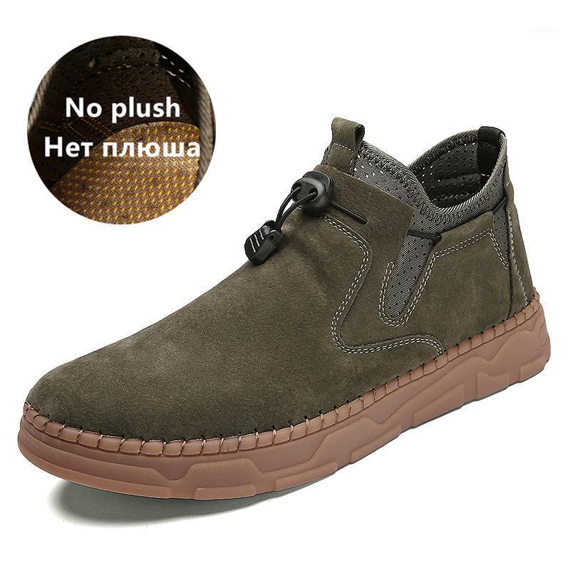 2020 moda clássico inverno homens botas masculinas itália homem artesanal homem tornozelo botas impermeável homem não-deslizamento mocassins plus tamanho 38-481