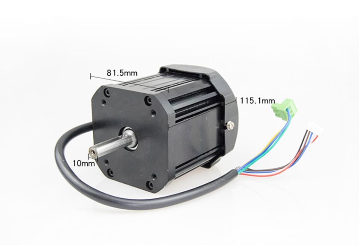 Fırçasız DC Motor 850W / 110V220V / WM210V Torna Motoru