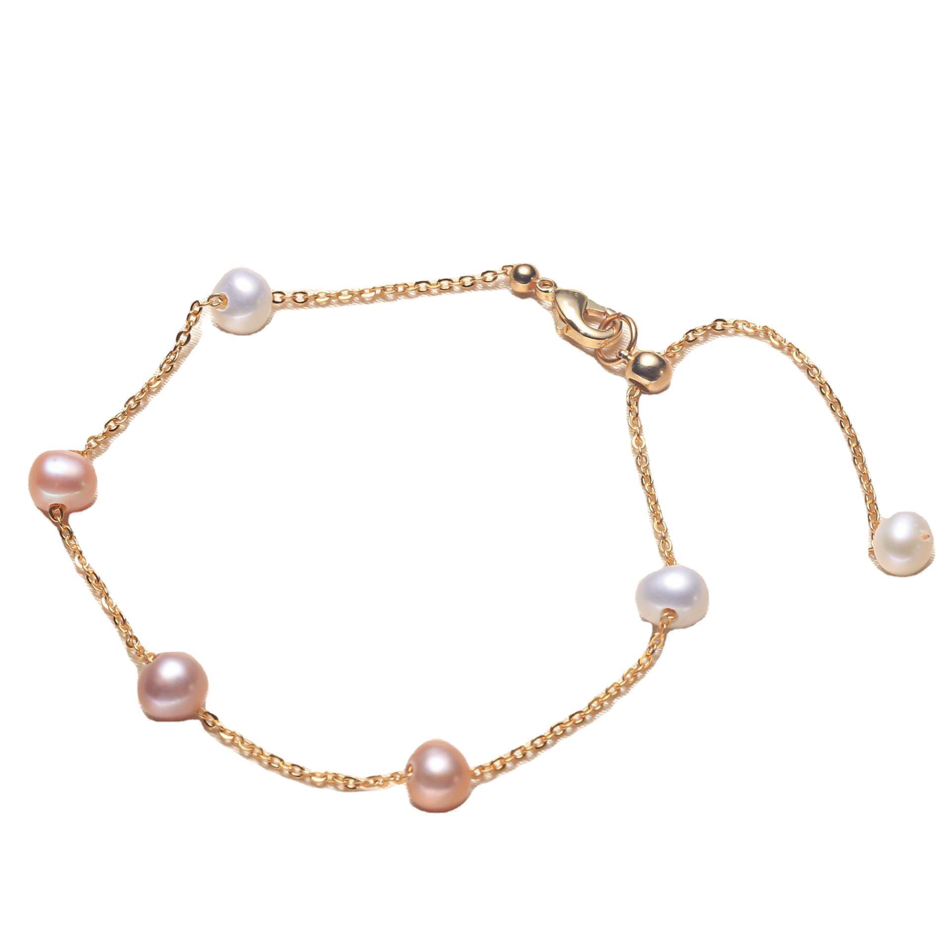 Браслет для женщин пресноводный жемчужный браслет дружбы мода светло роскошный бисерный браслет ювелирные аксессуары оптом
