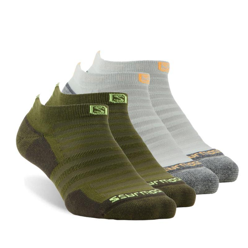 4 paires de chaussettes de course, zealwood unisexe humidité antibactérien de coussin de coussin de coussin de randonnée de randonnée, chaussettes hommes, chaussettes femmes