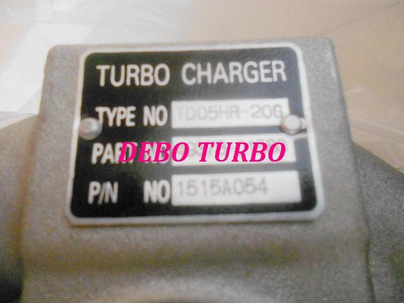 NEW TD05HR/49378-01580 1515A054 Turbo Turbocharger for MITSUBISHI Lancer EVO94G63 2.0T 280HP 2005-