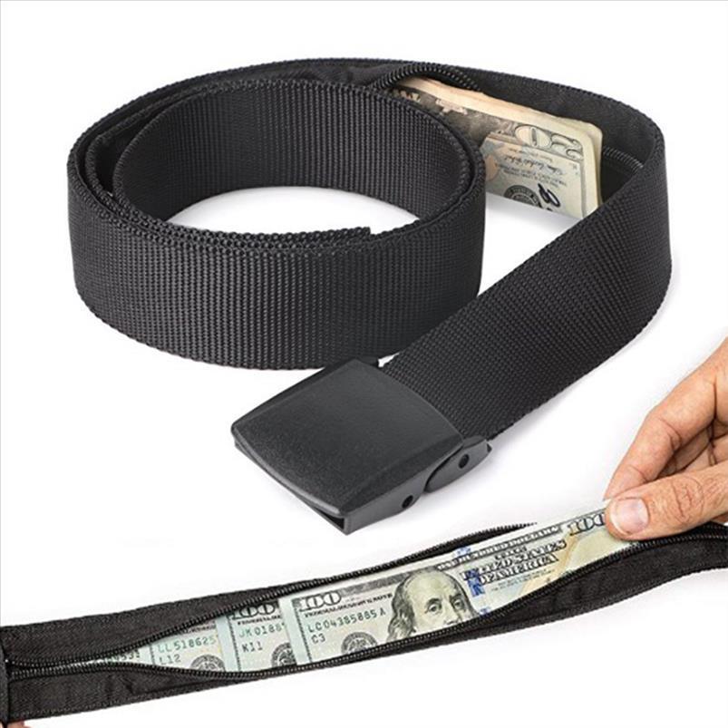 2019 New Travel Hidden Cash Money Bag Saco Funny Pack Anti Theft Cintura Packs Bolsa Carteira Fanny Bag Casual Nylon Mulheres Homens