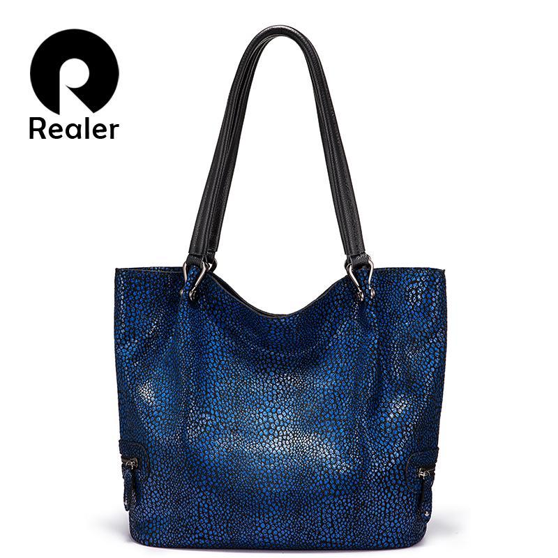 Borsa a spalla delle donne più vera di alta qualità Borsa di lusso in vera qualità per la borsa di grandi dimensioni Designer di grande capacità femminile borse casual