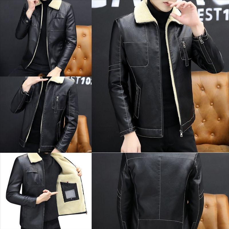 2X2 Leather Jackets Men Spring New designer Jackets Cross Vintage Punk Leather Jackets Plus Size Strings leather coat Motorcycle