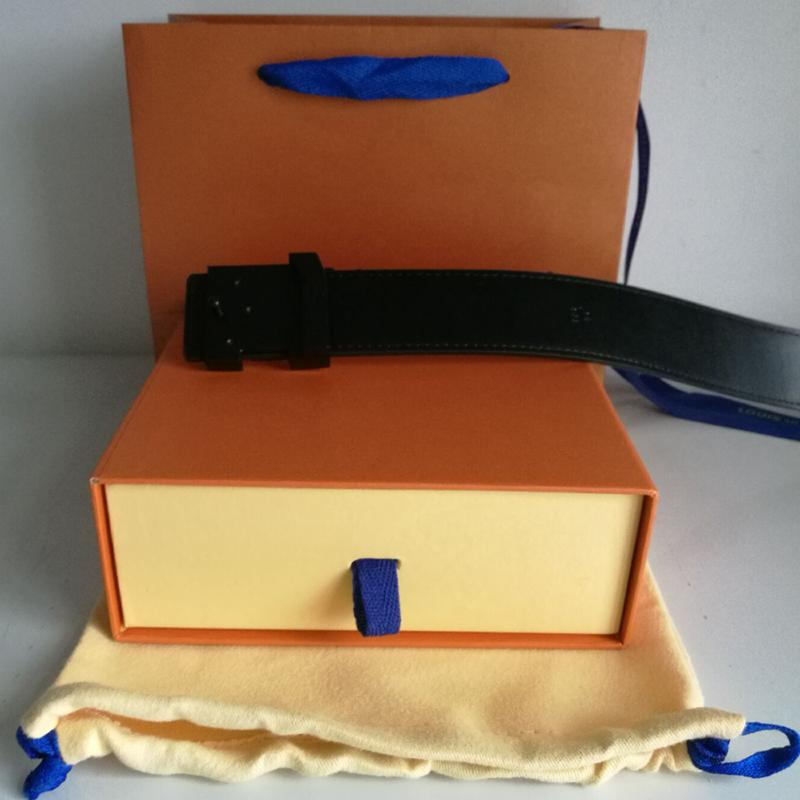عكسها الأزياء حزام الرجال النساء أحزمة معدنية مشبك حزام عرض 3.6 سنتيمتر 12 ألوان عالية الجودة مع مربع أكياس الهدايا