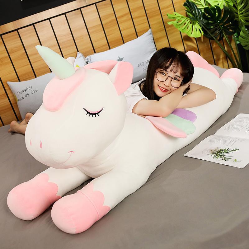 Подушки подушки для дивана красочные Pegasus подушка ангел unicorn плюшевые игрушки куклы для детей день рождения подарок на день Святого Валентина подарки f1217