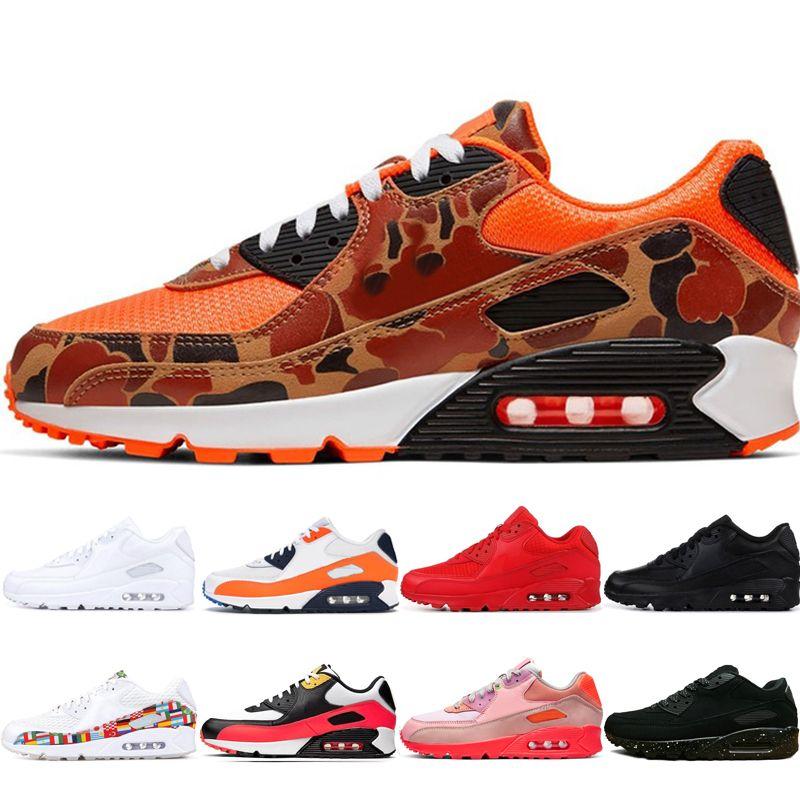 Arrivo Esecuzione di nuove scarpe Orange Camo Premium Game Royal Premium Brown Rain Forest Lahar Escape Pink Medium Olive Man Shoes Trainer Scarpa