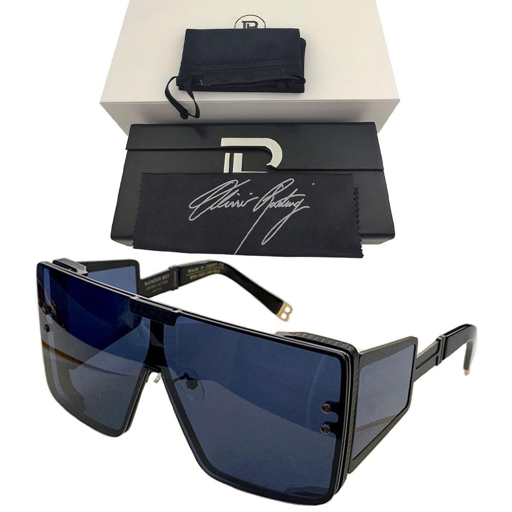 WONDER BOY Sunglasses Oversized LIMITED EDITION Sunglasses For Women Design Brand Original Gradient Goggle Square BL Sunglasses Men Eyewear
