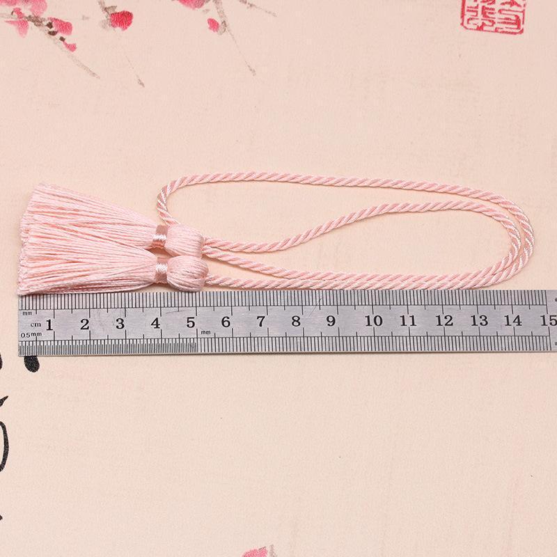 50 mm borlas Tiebacks Poliéster tassels hechos a mano para las cortinas colgantes de la casa Costura de la joyería de la boda Decoración de la prenda 1pcs H jllpqo