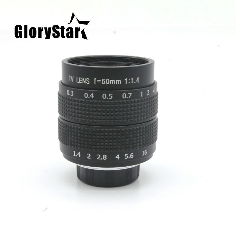 35mm F1.7 CCTV عدسة الكاميرا + 25MM F1.4 عدسة الكاميرا + 50MMF1.4 لنيكون 1 AW1 S1 S2 J5 J4 J3 J2 J1 V3 V2 V1