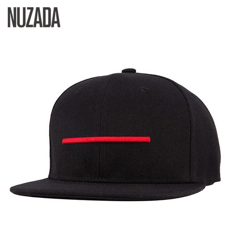 Brands NUZADA Snapback Bone Men Women Baseball Caps Quality Cotton Material Hats Hip Hop Simple Casual Style Cap Q1206