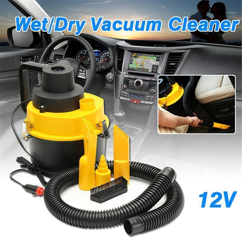 Cleadera de vacío universal portátil 12V Vac seco húmedo Vacío de aspiradora Turbo Turbo Mano que se adapta a los accesorios para automóviles o tienda