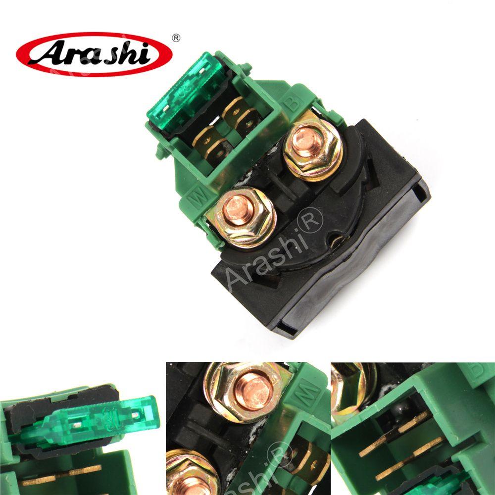 Arashi Electrical Starter Relay Solenoide per Honda CB400 1989 1990 CB400SF 1992 - 1997 CB450 1986 CB550 1983 CB650 Nighthawk 1979 - 1985
