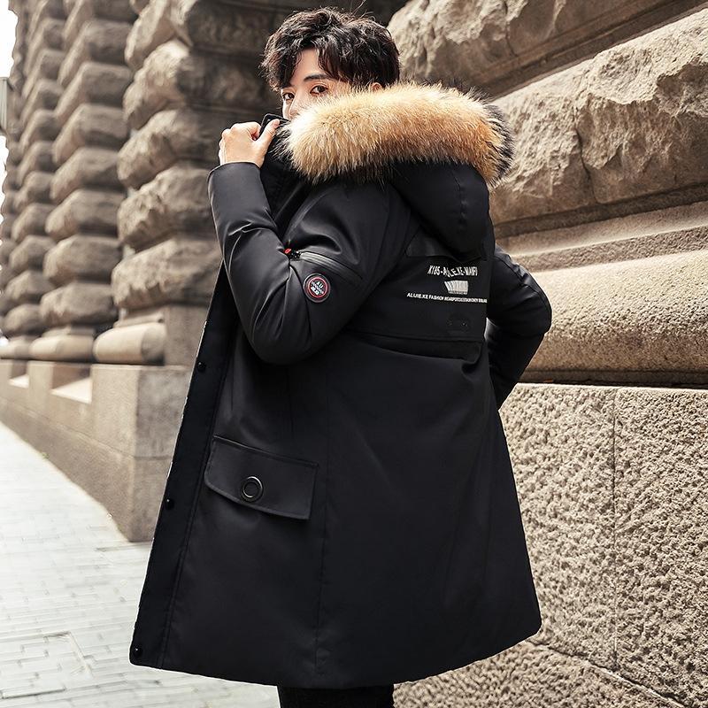 q1or moda chaqueta europea fantasma pieza smock anoraak algodón nylon tela gorra moda abrigo suelto pareja mujeres hombres nuevos chaquetas HFWPJK16