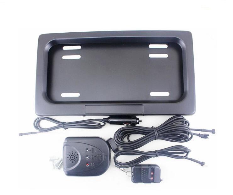 أحدث المعادن السيارات / سيارة التحكم عن بعد إخفاء حامل لوحة ترخيص الرخصة، غطاء الخصوصية، الشبح لوحة ترخيص مخفية الإطار 315 * 170 * 25.8 ملليمتر