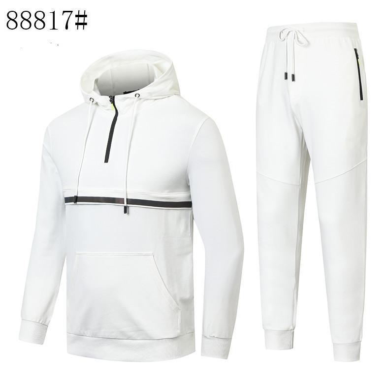 Fashion Designer Tracksuit Spring Automne Casual 2021 Sportswear Mens Truck Suites Haute Qualité Hommes Vêtements pour hommes