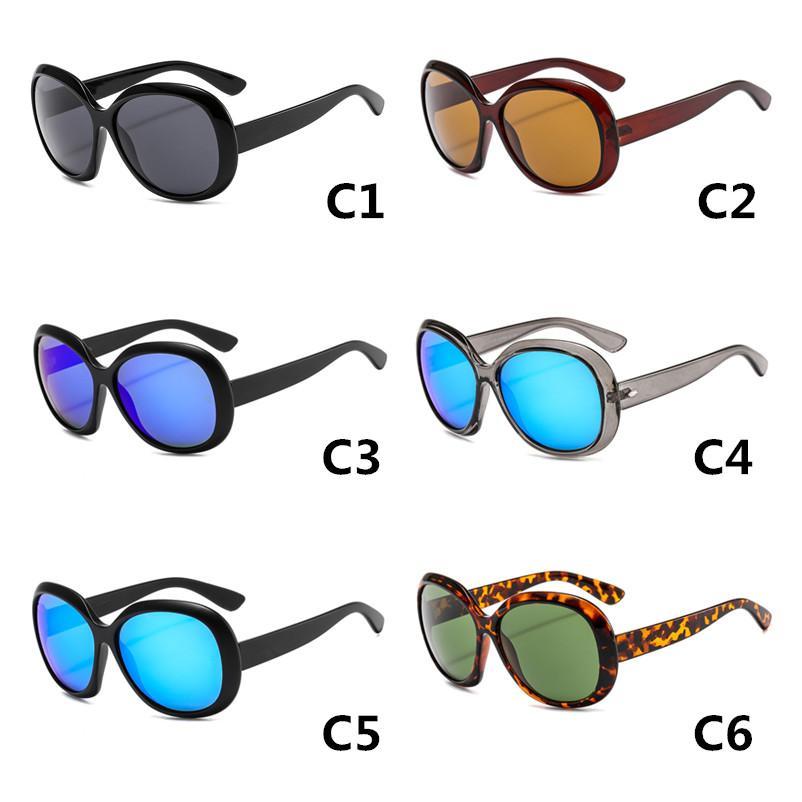 Ocultos mujeres marca gafas de sol vidrio vintage sol lente clásico diseñador hombre 4098 sol de gafas redondas sol gafas jsle