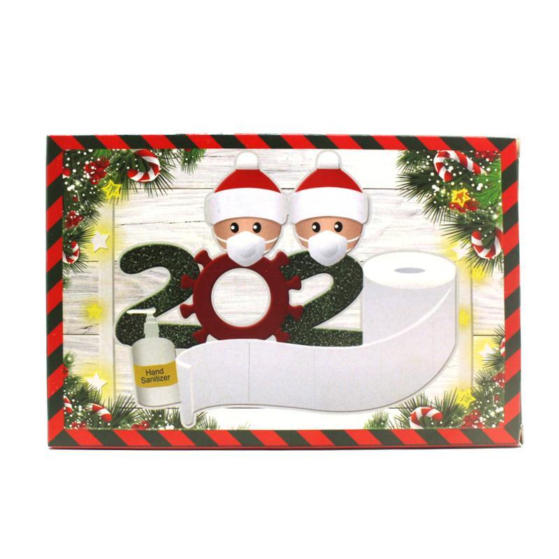 Рождественские подарки устанавливают новогоднюю вечеринку защитный костюм 1box = перчатка * 2 + маска * 10 + маска держатель * 2 + Googles * 1 + маска для лица * 2 GWE2981-1