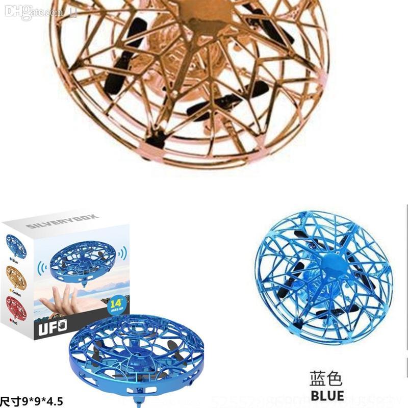 MGZY Neue Kreative Gebäude Spielzeug UFO Remote Deluxe FLY SMART SAURS GESTURE INDUKTION KREINE PLUDUVERUCKE Sets Bausteine für