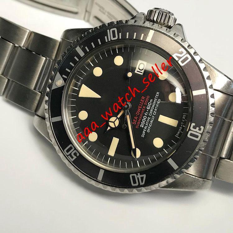 4 Стили BP Factory Vintage Мужские Роскошные Часы SD 1665 Одноместный Двухместный Red Rail Maxi Циферблат Автоматическое 2813 Движение Классические наручные часы