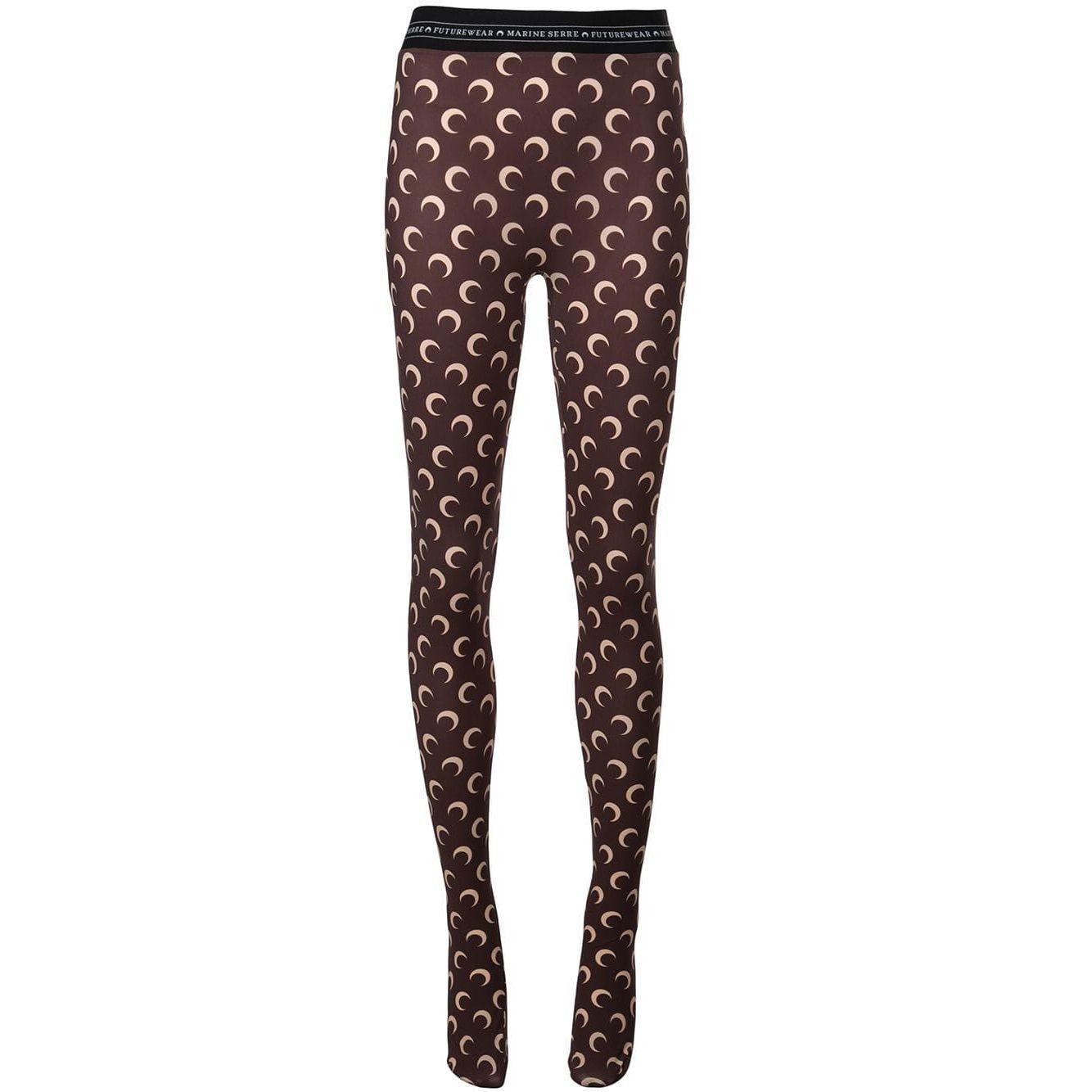 Nuovi pantaloni di Serre Marine Donne Leggings Moda Moda Luna stampata Leggings Skinny Color Design Design Pants Basic Calza