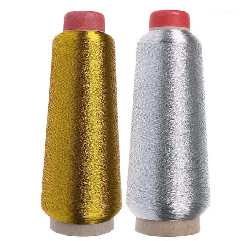 Hilo 150D Poliéster Hilo de costura Oro Plata Ropa Bordado fuerte Durable para Máquinas de Artesanía Mano1