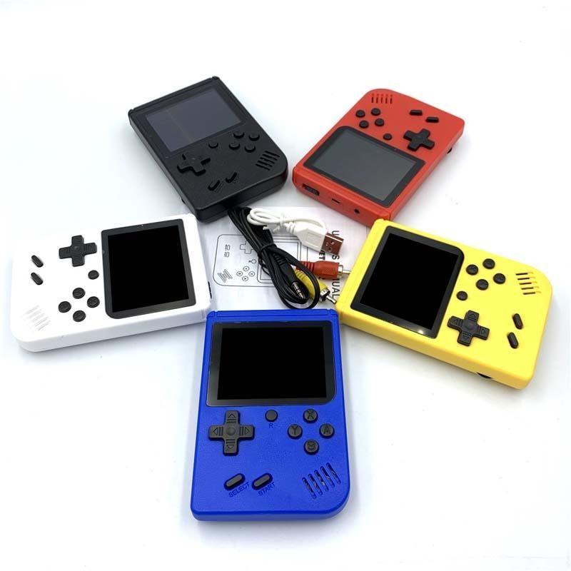 미니 핸드 헬드 게임 콘솔 레트로 휴대용 비디오 게임 콘솔은 400 게임 8 비트 3.0 인치 다채로운 LCD PK PXP3 PVP 1PCS를 저장할 수 있습니다.