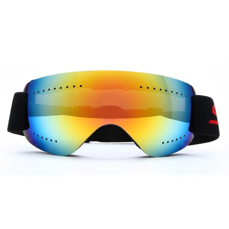 Snowboard Lunettes de snowboard Protection UV Snowboard Skate Ski Lunettes Lunettes Masque Vélo à vent Vélo extérieur Vélo Sports d'hiver Sports de ski Q0107