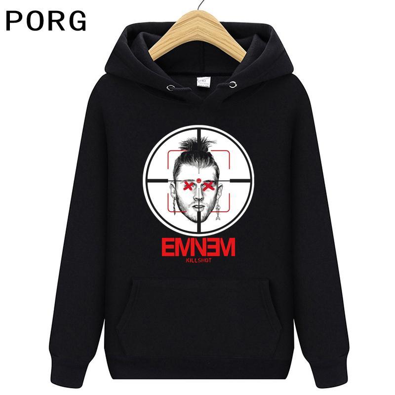 Femme Sweat à capuche surdimensionnée Hip Hop Fashion Homme Pullover Eminem Killshot Vêtements Tops 3D Casual Harajuku Sweat-shirt