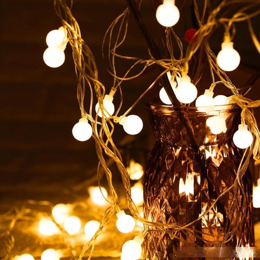 Fengrise Arbre String Christmas Fairy Lights Extérieur Led Light Décoration Nouvel An 2019 Navida Uitk