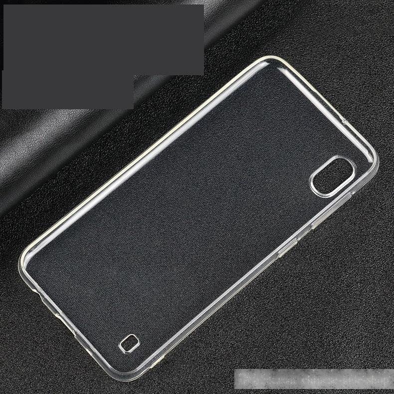 1.0mm Kristallklare weiche TPU-Hülle für Samsung Galaxy A10 A20 A30 A40 A50 A60 A70 A80 M10 M30 M30 A6 A6 plus 800 stück