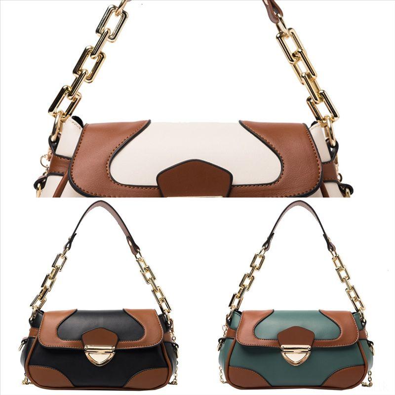 2kinu top femmes fourre-tout poches poches sacs à main Simples PU Designer Sac à main ONThego Véritable Twist Twist Messenger Rétro Épaule B Qeium