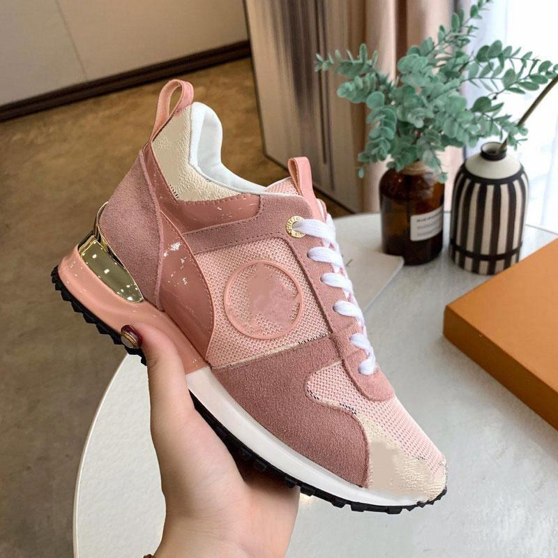 Louis Vuitton LV shoes Hommes RockRunner Sneakers Cuir Casual Chaussures Sneakers Snewwear Flats Robe Robe Sports Tennis Impression avec boîte