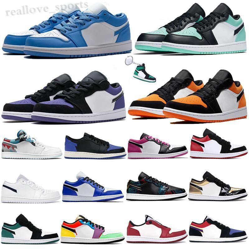 2020 JUMPMAN 1 1S мужская обувь UNC Paris Obsidian Ember Glow Top Cyber 3 Orewood коричневый скейтборд Королевский военный кроссовки TA06