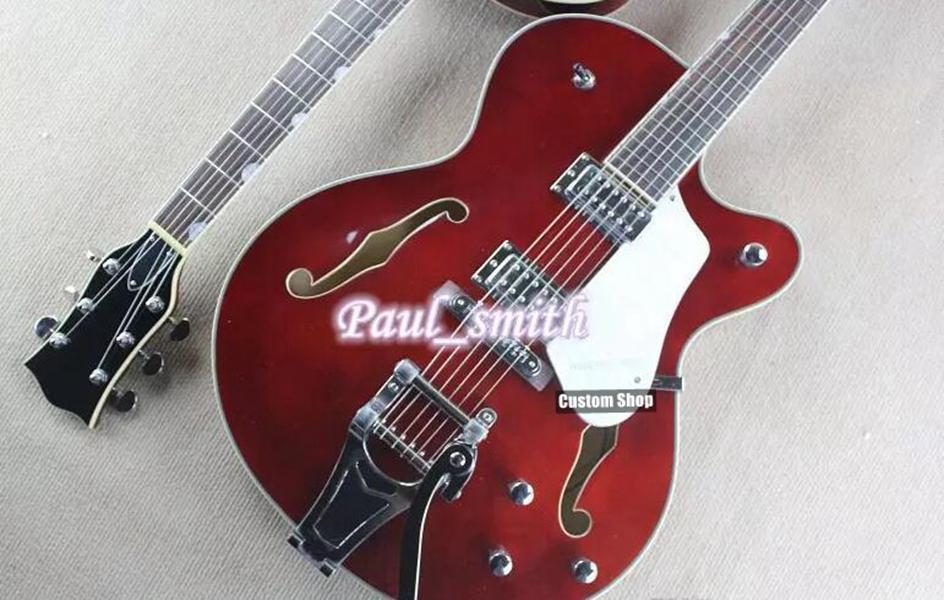 G6122T-62GE خمر اختيار الطبعة 1962 شيت أتكينز البلد جنتلمان البني الغيتار الكهربائي الأبيض البلاغارد bigs جسر الكروم الأجهزة