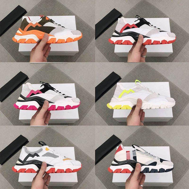 Luxurys homens designers sapatos de primeira qualidade plataforma mulheres sneaker couro bezerro couro conforto casual homens mulher sneakers tênis tamanho 36-45 vintage