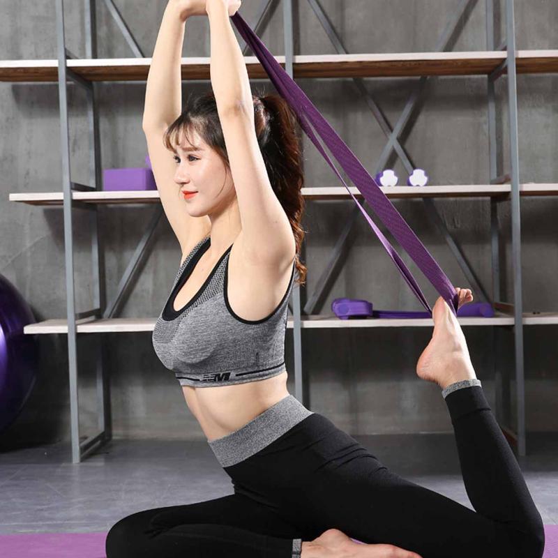Bandes de résistance élastique yoga exercice gym pilates stretch straps
