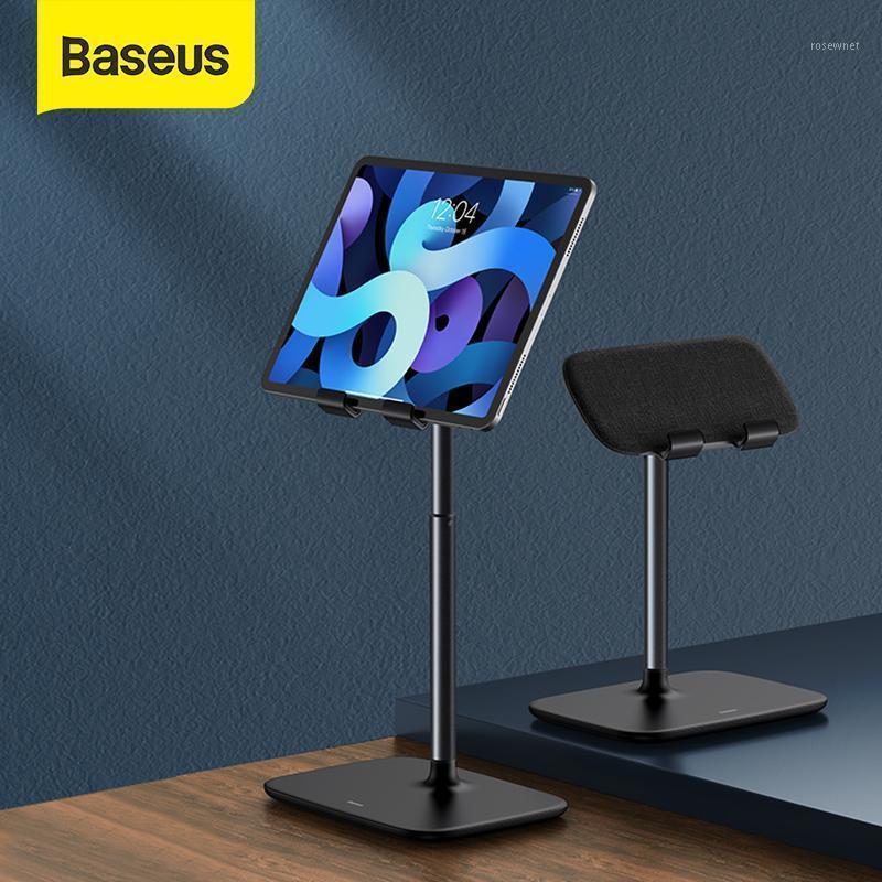 Baseus Tablet Soporte de soporte Escritorio Ángulo ajustable Altura Teléfono Teléfono Aluminio Escritorio Montaje universal para Tablet1