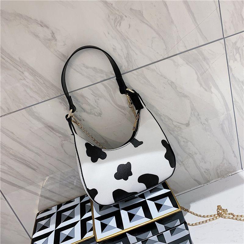 2020 Vaca Cintura Bolsa Cross Bumbag Para Cuerpo Crackle Band Bag Lady o Mujer Big Sac Estilo Mujer Banane Moda Blanco Jeavs