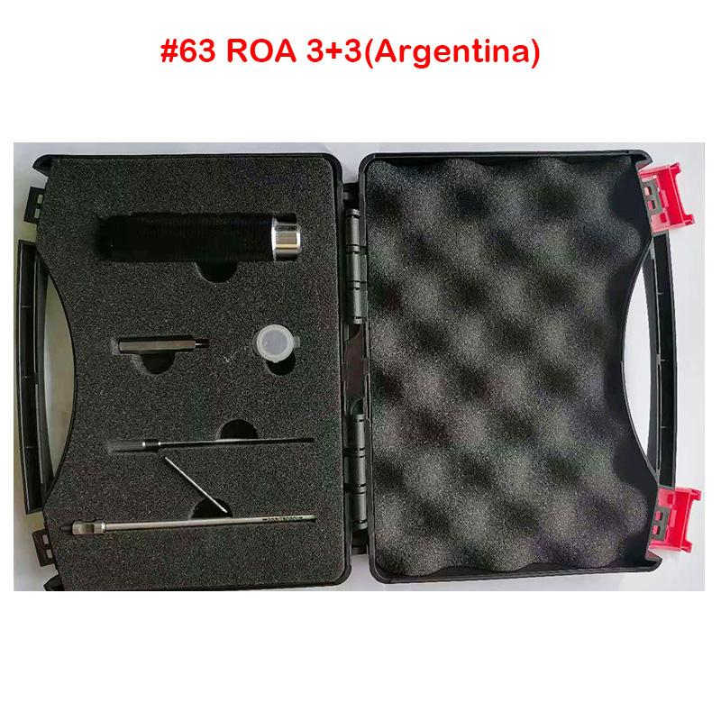 2020 جديد وصول ماجيك مفتاح # 63 ROA 3 + 3 (الأرجنتين) أقفال بت مزدوجة رئيس مفاتيح المفاتيح قفل فتح فتح الأقفال أداة الصين المزود